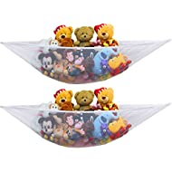 2 PK - Simplehouseware Stuffed Animal Jumbo Toy Storage Hammock