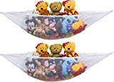 2 PK - Simplehouseware Stuffed Animal Jumbo Toy Storage Hammock: more info