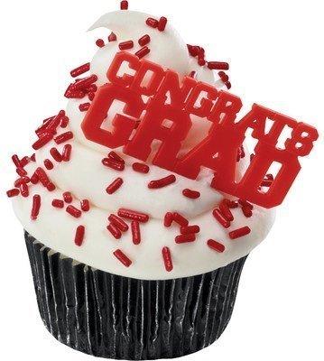 Congrats Grad Cupcake Picks 48 Pack product image