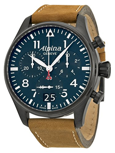 Alpina-Startimer-Pilot-Chronograph-Blue-Dial-Brown-Leather-Mens-Watch-AL-372N4FBS6