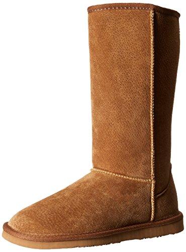 Lamo Women's 12 Inch Boot Chelsea Boot - Chestnut - 11 B(...