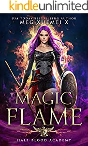 Half-Blood Academy 5: Magic Flame: a Reverse Harem Fantasy Romance (English Edition)