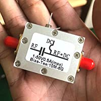 DYKB RF Biaser Bias Tee Frequency 10MHz-6000MHz 6GHz + case For HAM radio RTL SDR LNA Low Noise Amplifier
