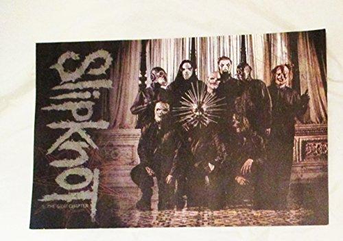 2016 Slipknot Concert Poster UK Tour Vip Package Print