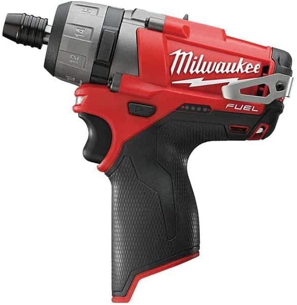 Taladro Atornillador 12 V Milwaukee 4933459818 0 m12fdd de 402 x Fuel//4.0 Ah Red