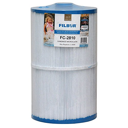 Filbur FC-2810 Antimicrobial Replacement Filter Cartridge for Sundance Micro Clean Pool and Spa Filter - Filter Cartridges Spa Sundance