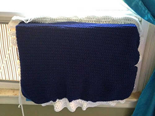 Air Conditioner Cover indoor unit insulation weather stripping multiple sizes handmade crochet