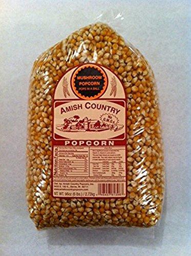 Amish Country Popcorn Mushroom Large 6 Pound Bag (Mushroom Large)
