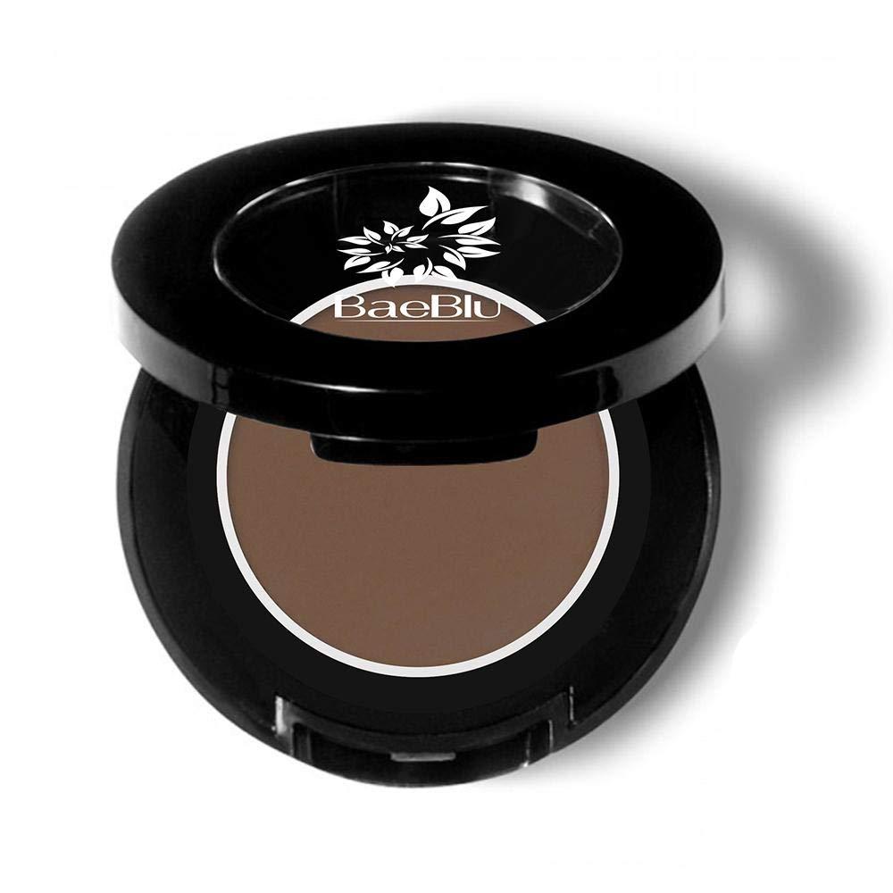 BaeBlu Hypoallergenic Eyeshadow Organic 100% Natural Finely Pressed Velvety Smooth Powder, Made in USA, Bark
