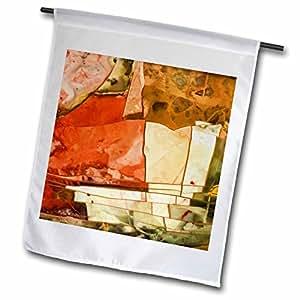 Danita Delimont - Abstracts - Oregon, Owyhee River Valley. Morrisonite Jasper - US38 BJA0734 - Jaynes Gallery - 18 x 27 inch Garden Flag (fl_93710_2)
