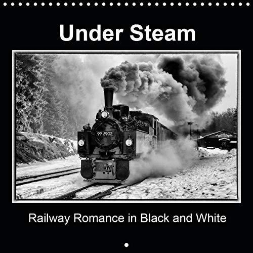 Under Steam Railway Romance in Black and White 2020: Steam locomotives in fantastic black and white. (Calvendo Technology)