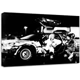 Back To The Future Movie DVD Canvas Art Print Poster
