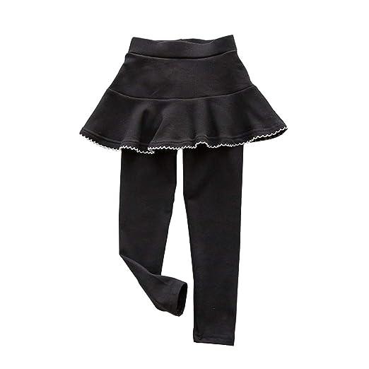 139c7366ef59e Fairy Baby Little Girls Skirt Legging Ruffle Tutu Solid Cotton Stretch  Culottes Pant Size 2T (