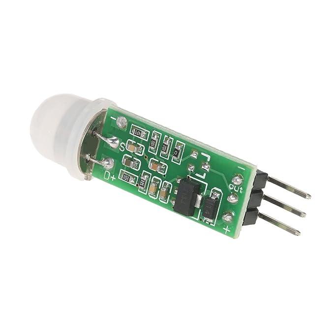 KKmoon 2pcs HC-SR505 Mini m骴ulo sensor de cuerpo peque駉: Amazon.es: Bricolaje y herramientas