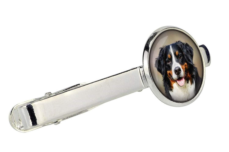 Mens Jewellery Photo Jewellery Handmade little love Bernese Mountain Dog Tie Clip for Dog Lovers