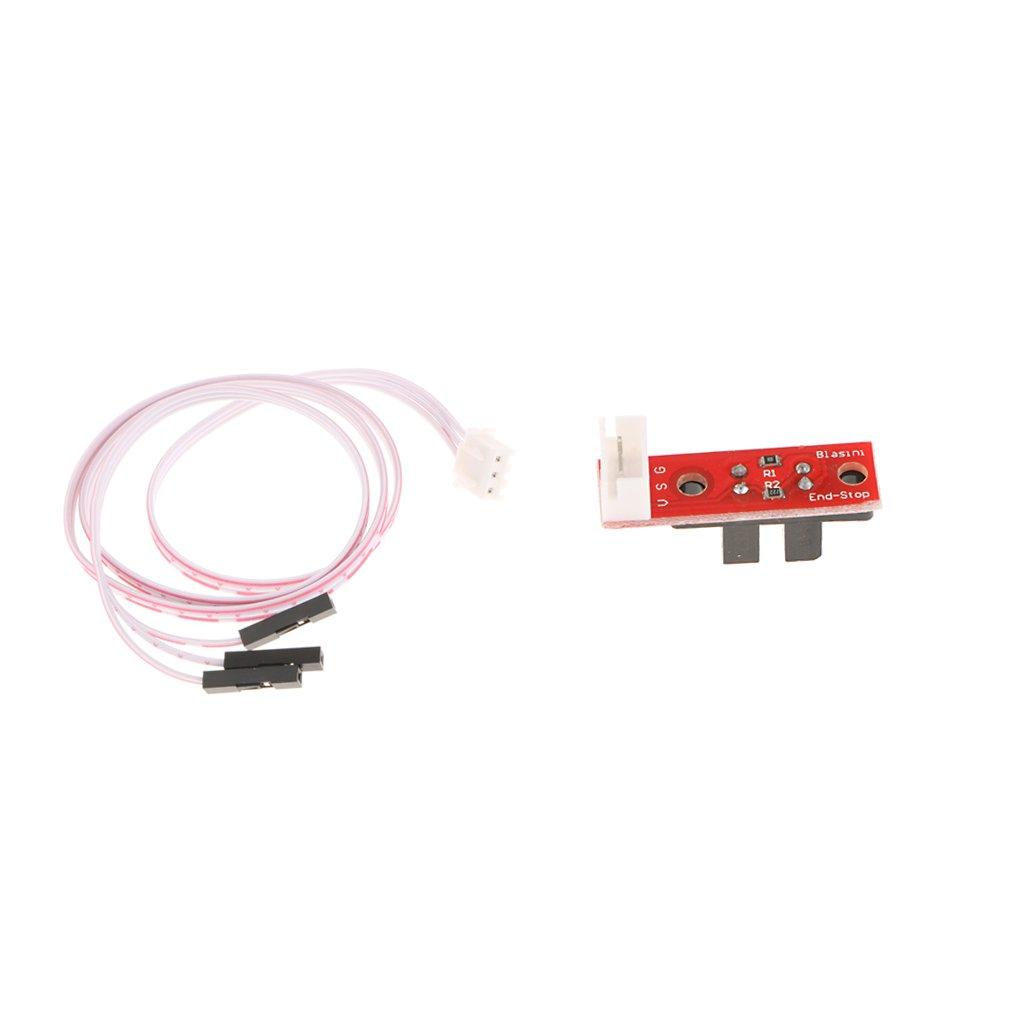 H HILABEE Interruptor Limitador óptico De Fin De Carrera con Cable ...