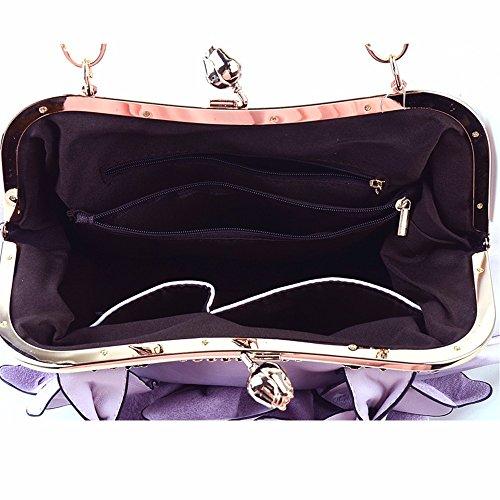Bolso Bandolera púrpura Crossbody Bag CCZUIML púrpura HwqYYg
