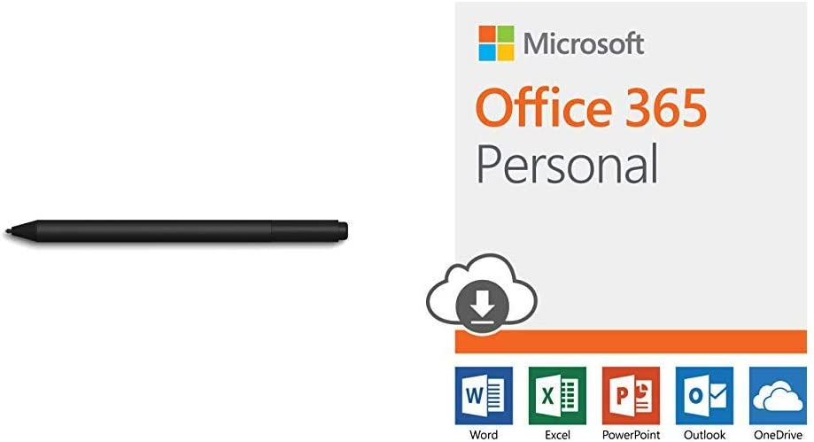 Microsoft Surface Pen Burgundy with Microsoft Office 365 Business Premium 12-month subscription 1 person PC//Mac Download