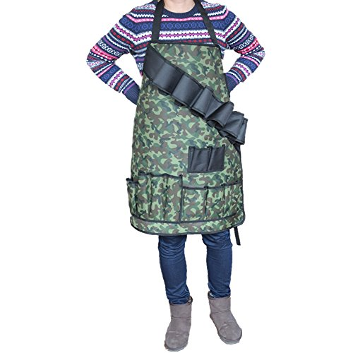 Professional BBQ Grill Apron with Tool Pockets and Beer Hold