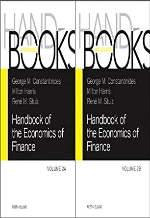 Amazon.com: Handbook of the Economics of Finance SET