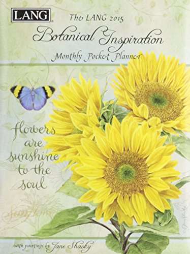 Lang January 2015 To January 2016 4 25 X 6 5 Inches  Perfect Timing Botanical Inspiration Monthly Pocket Planner By Jane Shasky  1003142