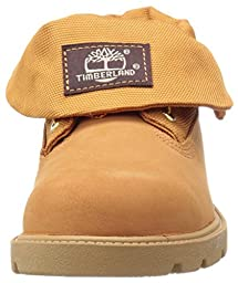 Timberland Roll-Top Single Shot Boot (Toddler/Little Kid/Big Kid), Wheat Nubuck, 10 M US Toddler