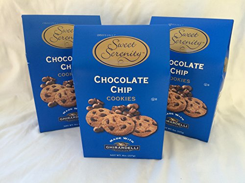 Sweet Serenity Chocolate Chip Gourmet Cookies Made with Ghiradelli Chocolate