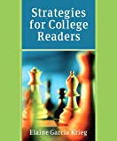 Strategies for College Readers with NEW MyReadingLab, Krieg, Elaine G., 0321898273