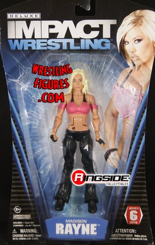 Madison Rayne - TNA Deluxe Impact 6 Toy Wrestling Action Figure