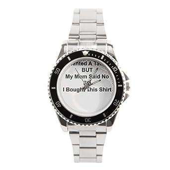 Mamá dice no a un tatuaje S barato Relojes comprar de acero ...