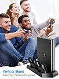 Kootek Vertical Stand with Cooling Fan for PS4