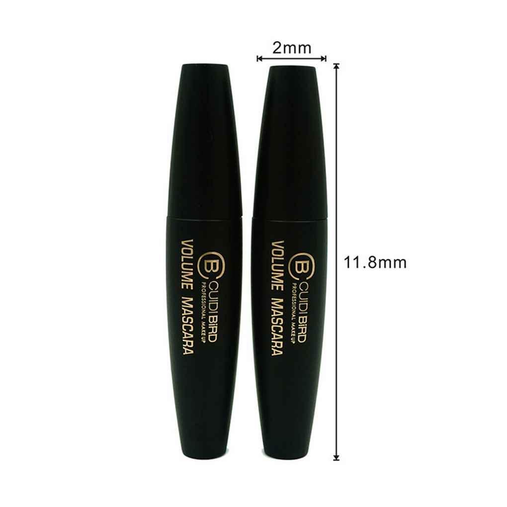 Providethebest KCE Femmes Filles Lashes Encre Noire Fibre 3D Mascara Curl Extension Cils Volume Maquillage Express cosm/étiques imperm/éables