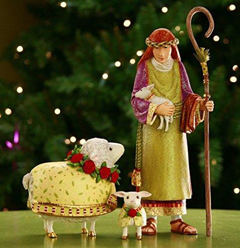 Nativity Lamb (Krinkles Patience Brewster Nativity Shepherd Ewe & Lamb 2011)