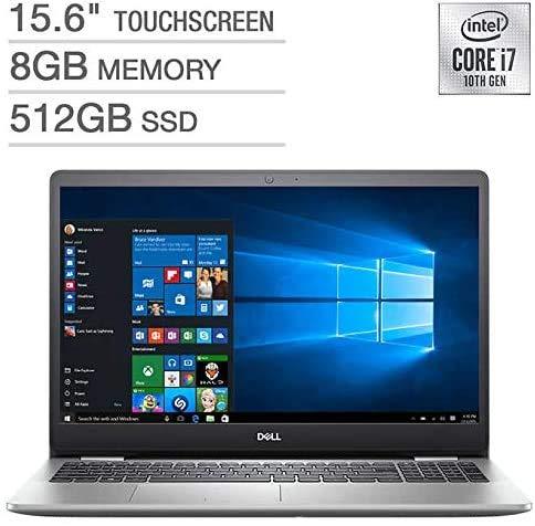 2020 Dell Inspiron 5000 15.6-inch FHD Touchscreen Laptop PC, Intel 10th Gen Quad Core i7-1065G7 Processor, 8GB DDR4…