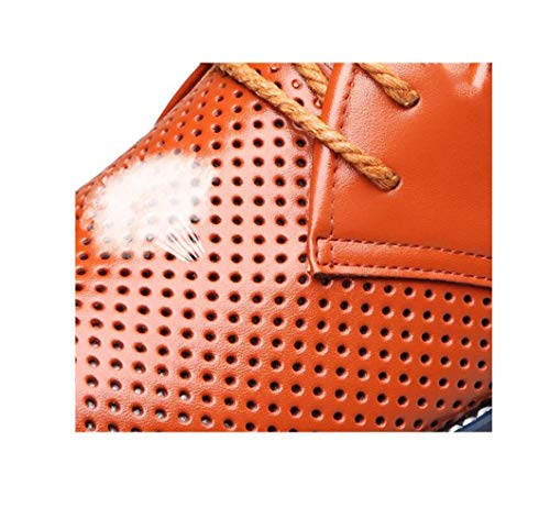 Fondo Uomo Cuoio Casual A Cintura Formale di della Rotondo Vestono Piatto con Morbido Fibbia Scarpe Abbigliamento da Le in Cotone Giovent Punta zmlsc qXfwRSz