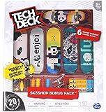 Tech Deck Enjoi Skateboards Sk8shop Bonus Pack with 6 Fingerboards - 20th Anniversary