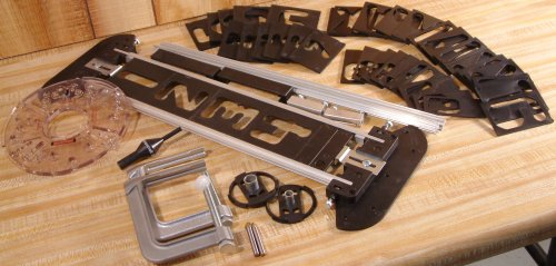 Milescraft 1212 sign pro router signmaking jig nielsen for Router alphabet templates