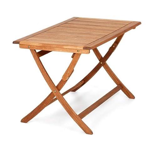 Tavolo Esterno Pieghevole Legno.Tavoli E Tavolini Festnight Tavolo Da Giardino Esterno Quadrato