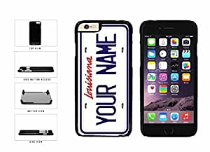 Personalized Custom Louisiana License Plate Plastic Phone Case Back Cover iPhone 6 (4.7 inches)