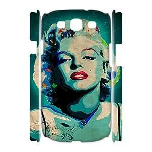 J-LV-F Marilyn Monroe Customized Hard 3D Case For Samsung Galaxy S3 I9300