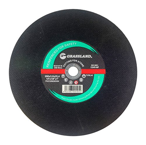 Wheel Stone Off Cut (Cutting Disc, Concrete/Masonry/Stone Cut-off Wheel for Chop Saw - 14