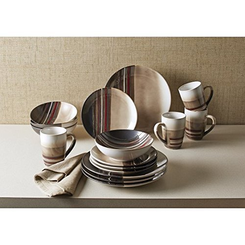 Better Homes and Gardens Rockport 16-Pieces Dinnerware Set