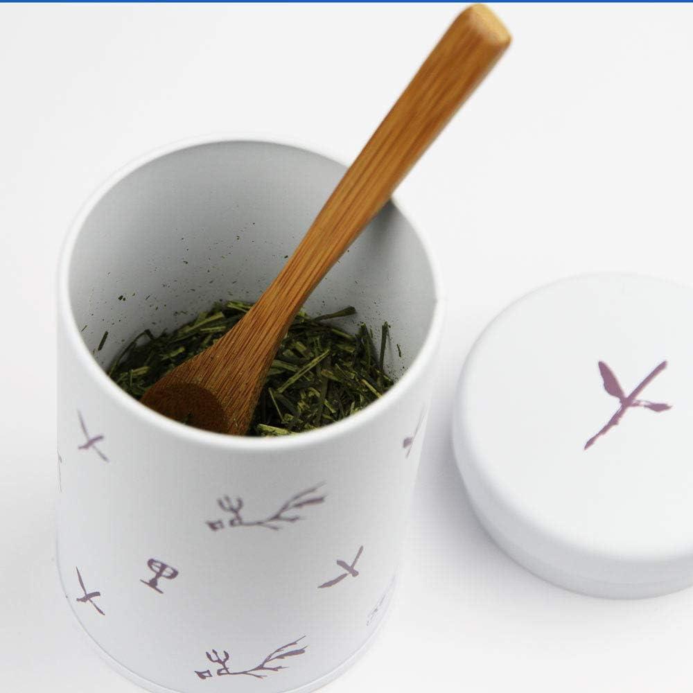 Made in Japan Japanese Tea canister Tin Ocha kan Japanese Tea KIMIKURA