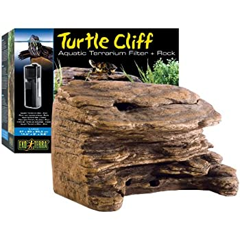 Amazon Com Exo Terra Turtle Cliff Aquatic Terrarium