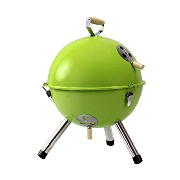 Parrilla Redonda para Barbacoa Al Aire Libre Mini Grill Rack Portátil 3-5 Personas Uso