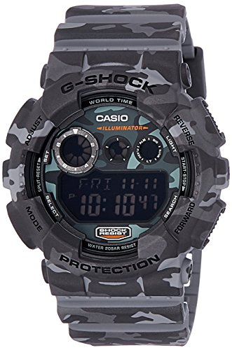 Casio SHOCK Digital Quartz GD 120CM 8D