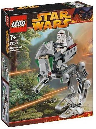 LEGO Star Wars 7250 Clone Scout Walker - Caminante explorador clon: Amazon.es: Juguetes y juegos