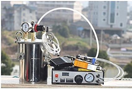 GOWE automático dispensador de válvula de succión cuantitativos tiempo y cantidad a out pegamento para silicona