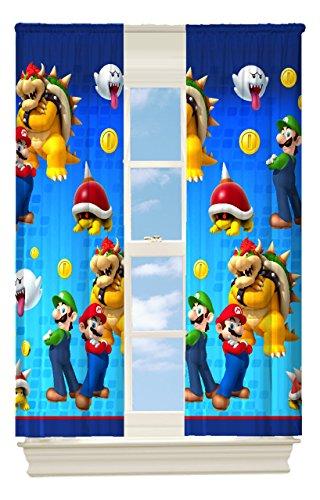 Nintendo's Super Mario Defiant Mario Room Darkening Window Panel, 42 by