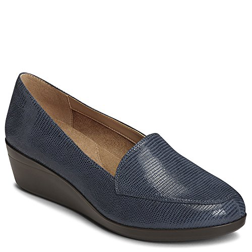 Navy Aerosoles Loafer On Lizard Slip Women's Match True PPxqOzY
